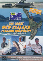The Great New Zealand Fishing Road Trip : Volume 1 : North Island