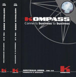 Kompass Australia 2009 : Connects Business to Business : 2 x Paperback Books, Voumes 1-2 - Kompass Australia