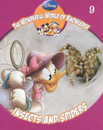 Insects and Spiders : The Wonderful World Of Knowledge - Book 9