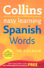 Collins Easy Learning Spanish Words : Easy Learning - Collins