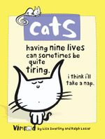 Cats : Having Nine Lives Can Sometimes Be Quite Tiring - I Think I'll Take A Nap - Lisa Swerling