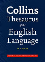 Collins Thesaurus of the English Language : Complete & Unabridged - Ian Brookes