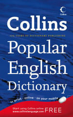 Collins Popular English Dictionary - Collins
