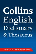 Collins English Paperback Dictionary and Thesaurus - Collins