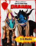 How to Train Your Dragon - 3D Masks Book
