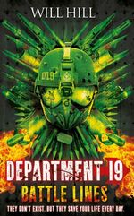 Department 19 : Battle Lines - Will Hill