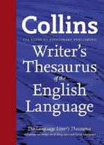 Collins Writer's Thesaurus of the English Language - .