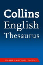 Collins English Paperback Thesaurus - Collins Dictionaries