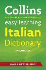 Easy Learning Italian Dictionary : Easy Learning - Collins Dictionaries