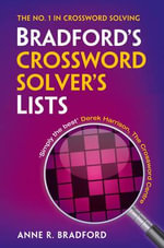 Collins Bradford's Crossword Solver's Lists - Anne R. Bradford
