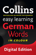 Easy Learning German Words (Collins Easy Learning German) : Collins Easy Learning German - Collins