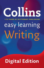 Easy Learning Writing (Collins Easy Learning English) : Collins Easy Learning English - Collins