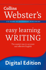 Writing (Collins Webster's Easy Learning) : Collins Webster?s Easy Learning - Collins