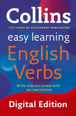 Easy Learning English Verbs (Collins Easy Learning English) : Collins Easy Learning English - Collins