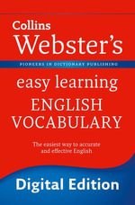 Webster's Easy Learning English Vocabulary (Collins Webster's Easy Learning) : Collins Webster?s Easy Learning - Collins