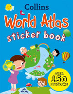 Collins World Sticker Atlas - Collins UK