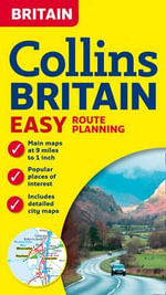 Collins Britain Easy Route Planning Map - Collins Maps