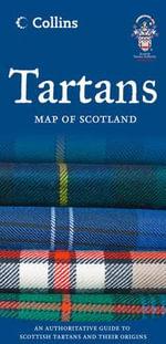 Tartans Map of Scotland - Collins Maps