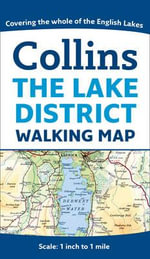 Collins Lake District Map - Collins UK