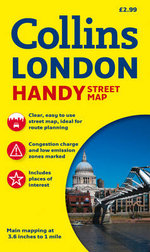 Collins Handy Street Map London : 25th Edition