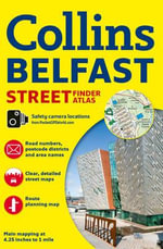 Collins Belfast Streetfinder Colour Atlas - Collins UK