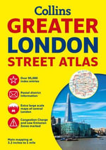 Collins Greater London Street Atlas - Collins UK