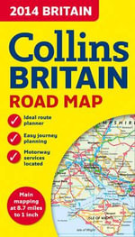 2014 Collins Map of Britain