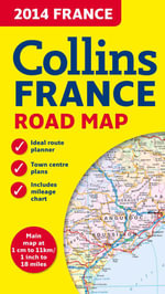 2014 Collins Map of France - Collins UK