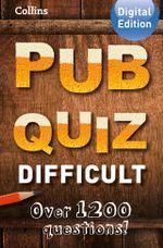 Collins Pub Quiz (Difficult) - Collins