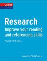 Research : B2+ - Anneli Williams
