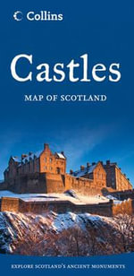 Castles Map of Scotland - Collins UK