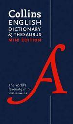 Collins Mini Dictionary & Thesaurus - Collins Dictionaries