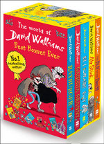 The World of David Walliams: Best Boxset Ever - 5 x Paperbacks in 1 x Boxed Set : The Boy in the Dress, Mr Stink, Billionaire Boy, Gangsta Granny, Ratburger - David Walliams