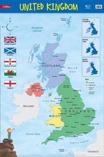 United Kingdom : Wall Map - Collins Maps