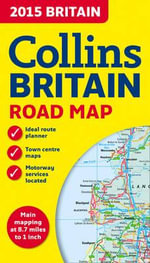 2015 Collins Map of Britain - Collins Maps