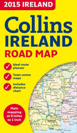 2015 Collins Map of Ireland - Collins Maps