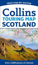 Scotland Touring Map - Collins Maps