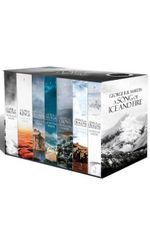 A Game of Thrones: The Story Continues - Buy this and get Dangerous Women for free* : The complete Game of Thrones box set of all 7 books (in new look covers) - George R. R. Martin