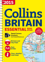 2015 Collins Essential Road Atlas Britain - Collins Maps