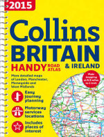 2015 Collins Handy Road Atlas Britain - Collins Maps
