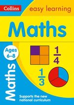 Collins Easy Learning Age 5-7 - Maths Ages 6-8 : Age 6-8 - Collins Easy Learning