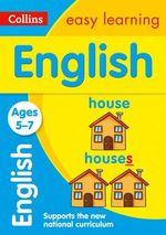 Collins Easy Learning Age 5-7 - English Ages 5-7 : Age 5-7 - Collins Easy Learning