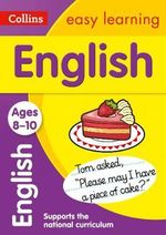 Collins Easy Learning Age 7-11 - English Ages 8-10 : Age 8-10 - Collins Easy Learning