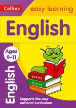 Collins Easy Learning Age 7-11 - English Ages 9-11 : Age 9-11 - Collins Easy Learning