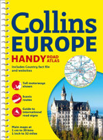 Collins Handy Road Atlas Europe - Collins Maps