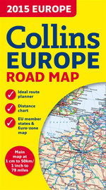 Collins Map of Europe 2015 - Collins Maps