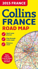 Collins Map of France - Collins Maps