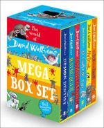 The World of David Walliams Mega Box Set - 6 x Paperbacks in 1 x Boxed Set - David Walliams