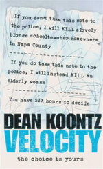 Velocity - Dean Koontz