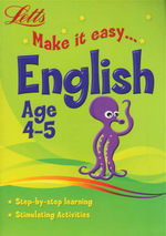 English  : Letts Make It Easy - Age 4-5